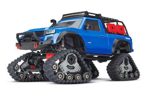 Traxxas TRX-4 Rock Crawler with Traxx Blue