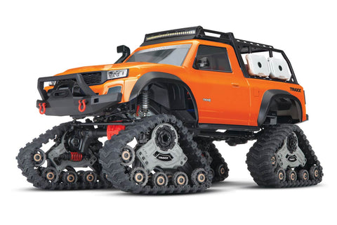 Traxxas TRX-4 Rock Crawler with Traxx Orange