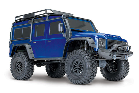 Traxxas TRX-4 Land Rover Defender Blue