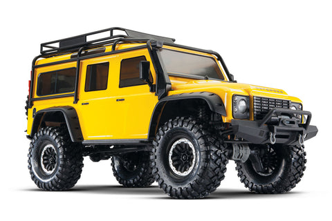 Traxxas TRX-4 Land Rover Defender Yellow