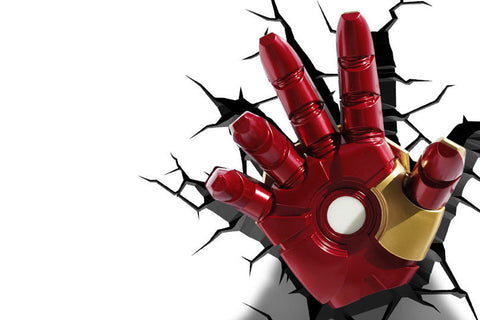 3D Light FX Iron Man Hand Wall Light