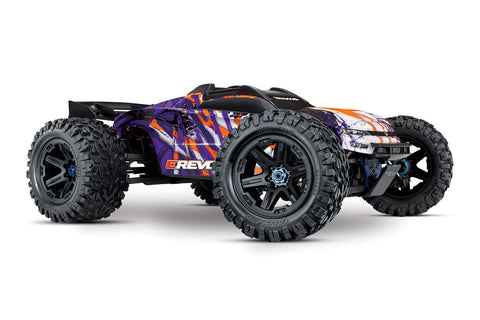 Traxxas E-Revo 2.0 Brushless VXL 6S Purple