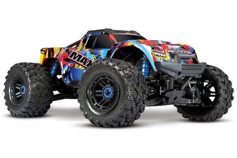Traxxas Maxx 1/10 4WD 4S VXL Monster Truck Rock N Roll