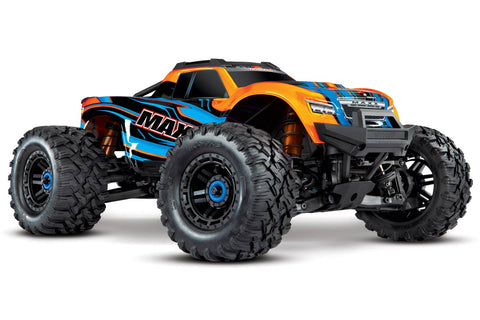 Traxxas Maxx 1/10 4WD 4S VXL Monster Truck Orange