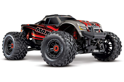 Traxxas Maxx 1/10 4WD 4S VXL Monster Truck Red
