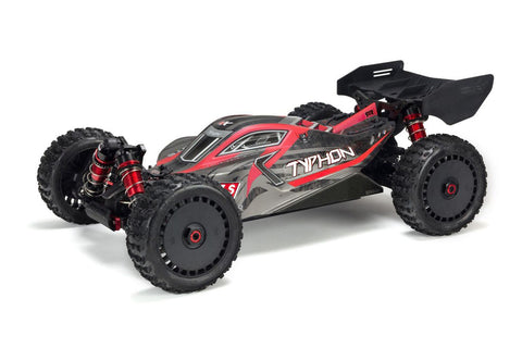 Arrma Typhon 6s BLX V5 4WD Race Buggy Red