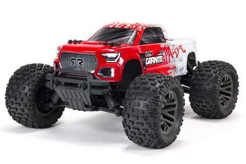 Arrma 1/10 Granite V3 3S Brushless Monster Truck  RTR Red
