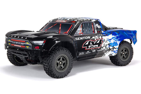 Arrma 1/10 Senton V3 3S Brushless Short Course Truck RTR Blue