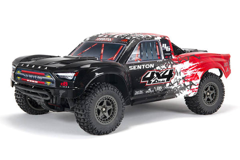 Arrma 1/10 Senton V3 3S Brushless Short Course Truck RTR Red