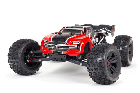 Arrma 1/8 Kraton V5 6S 4WD BLX Monster Truck RTR Red