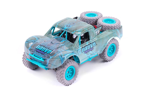 RCG Racing 1/20 RC Short Course Truck Blue