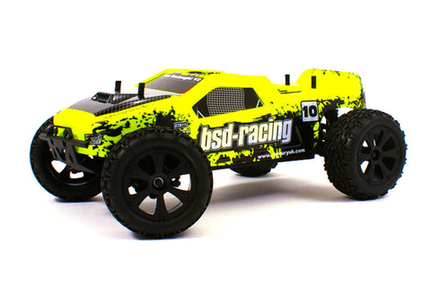 BSD Racing 4WD 1/10 Flux Onslaught V2 Truck