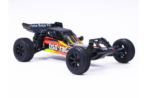 BSD Racing Prime Baja V3 1/10 Brushed Buggy Orange/Black