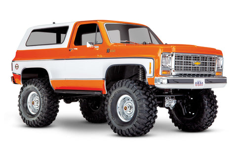 Traxxas TRX-4 1979 Chevrolet K5 Blazer Crawler Orange