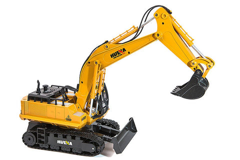 HuiNa 1/16 RC Excavator 2.4G 11ch with Die Cast Bucket