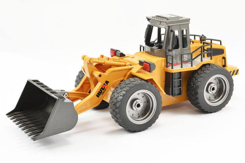 HuiNa 1/18 Bulldozer with Die Cast Bucket