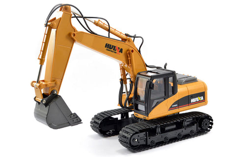 HuiNa 1/14 Excavator 2.4G 15ch with Die Cast Bucket