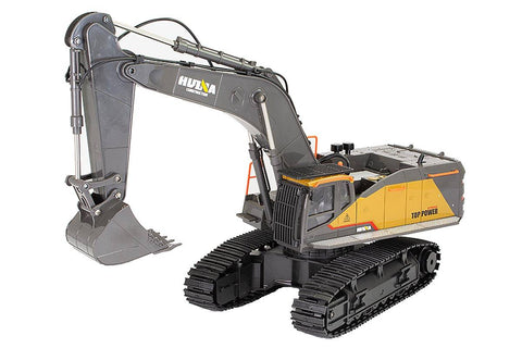 HuiNa 1/14 Excavator 2.4G 22ch with Die Cast Cab and Bucket