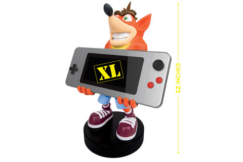 Cable Guys Crash Bandicoot XL Collectable Device Holder