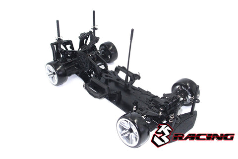 3Racing Sakura D4 RWD Black Edition Drift Car