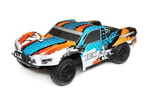 ECX  Torment 1/10 4WD Brushed Orange/Blue RTR