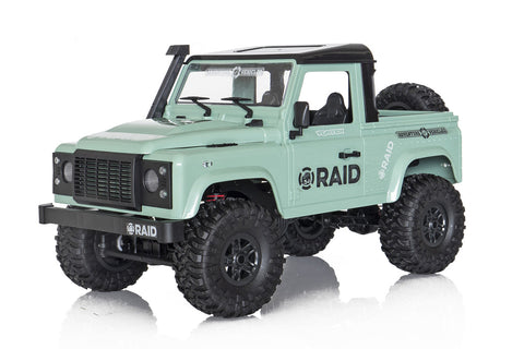 Funtek Raid Adventure 2 Open Top 1/12 4WD RTR Green