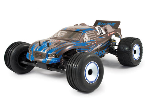 FTX Siege 2WD Brushed Off-Road Truggy 1/10th Blue RTR