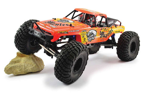 FTX Mauler 4x4 RTR 1/10 Brushed Rock Crawler Red
