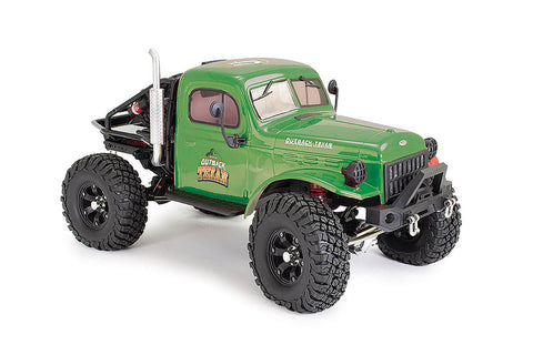FTX Outback Texan 1/10 Trail Crawler RTR Green