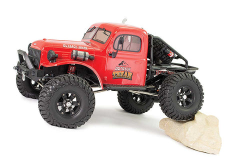 FTX Outback Texan 1/10 Trail Crawler RTR Red