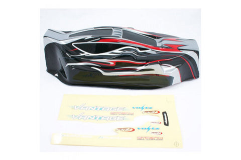 FTX Vantage Buggy Painted Bodyshell Black/Red