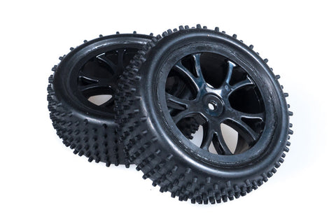FTX Vantage Front Buggy Tyre Mounted On Wheels