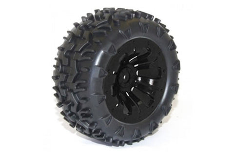 FTX Carnage Wheels and Tyres Black