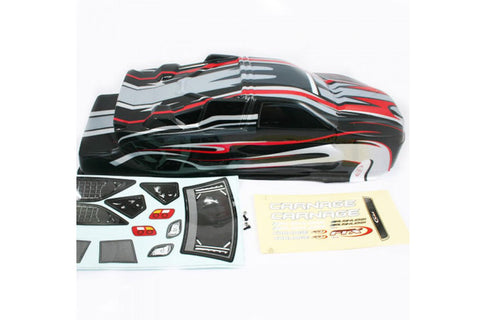 FTX Carnage Painted Bodyshell Black/Red