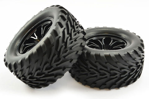 FTX Bugsta Wheels and Tyres Black
