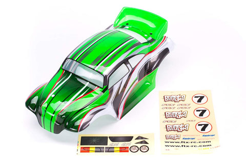 FTX Bugsta Painted Bodyshell Green