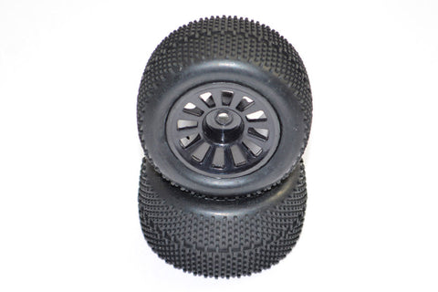 FTX Colt Wheels and Tyres Black