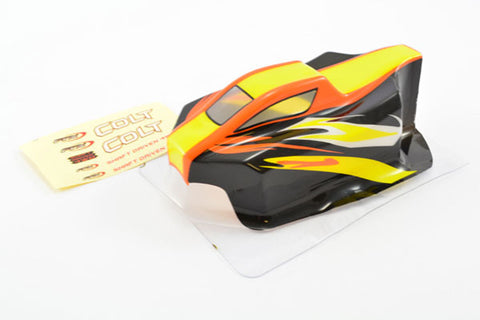 FTX Colt Buggy Painted Bodyshell Black/Orange