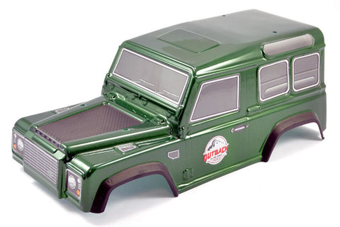 FTX Outback Painted Ranger 2.0 Bodyshell Green