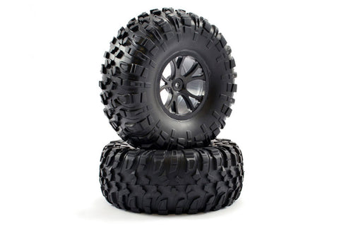 FTX Outlaw Wheels and Tyres Black