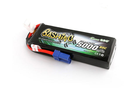 Gens Ace 3S 11.1V 5000mah 50C LiPo Battery - EC5