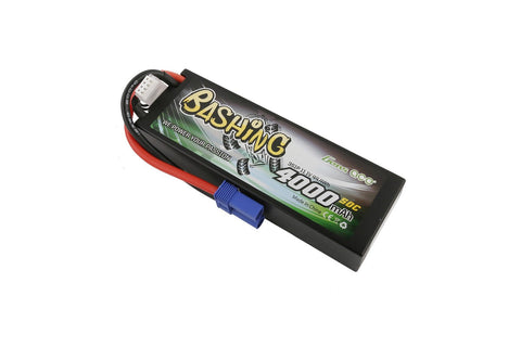 Gens Ace 3S 11.1V 4000mah 50C LiPo Battery - EC5