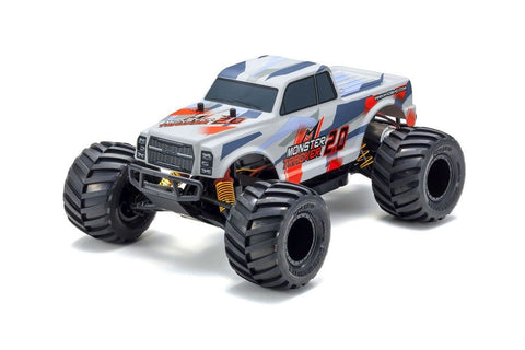 Kyosho 1/10 Monster Tracker Truck 2.0 RTR Red