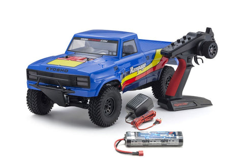 Kyosho 1/10 2WD Outlaw Rampage Truck RTR Blue
