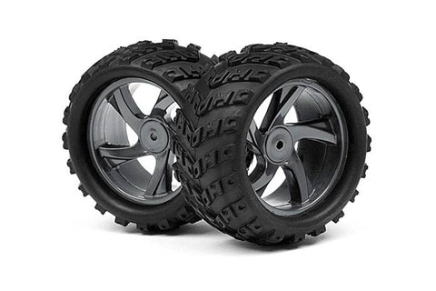 Maverick 1/18 Monster Truck Wheel and Tyre Assembly