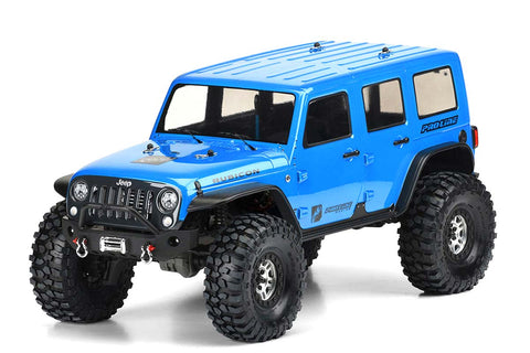 ProLine Jeep Wrangler Rubicon Unlimited Clear Bodyshell TRX-4