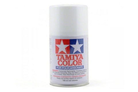 Tamiya Polycarbonate Spray Paint 100ml White PS-1