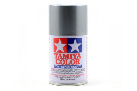 Tamiya Polycarbonate Spray Paint 100ml Silver PS-12