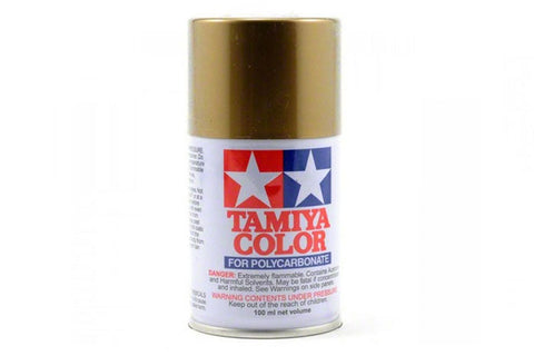 Tamiya Polycarbonate Spray Paint 100ml Gold PS-13