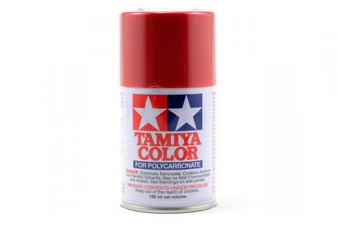Tamiya Polycarbonate Spray Paint 100ml Metallic Red PS-15